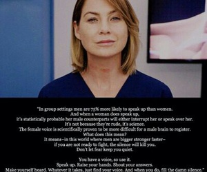 greys anatomy, inspiration, and meredith grey image