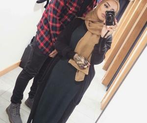 hijab, حُبْ, and بُنَاتّ image