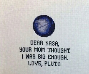 pluto, nasa, and planet image