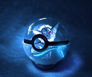 pokemon, vaporeon, and pokeball image