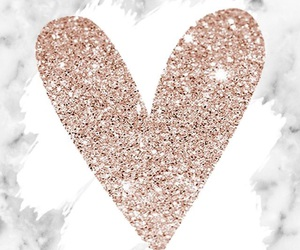 heart, marble, and wallpaper image