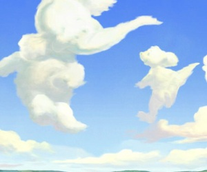 clouds, disney, and lumpy image