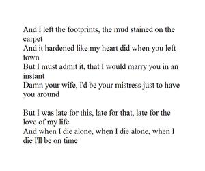Lyrics, miss, and missing image