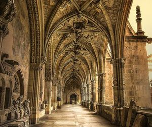 architecture, spain, and cathedral image