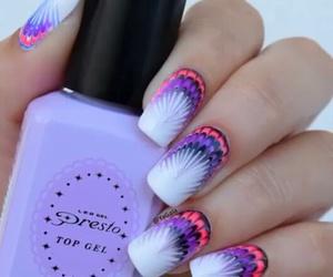 nails, nail designs, and pretty image