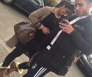 adidas, amour, and couple image