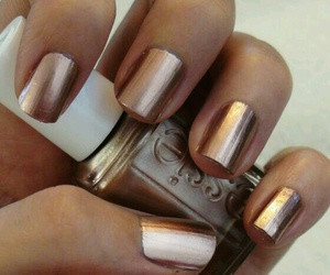 bronze, color, and nails image
