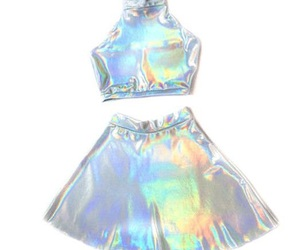 holographic and grunge image