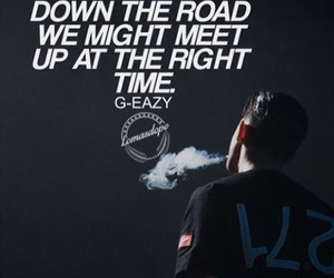 quote and g-eazy image