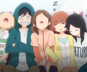 ao haru ride, anime, and funny image