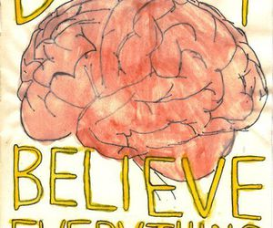 believe, brain, and words image