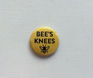 bee, yellow, and aesthetic image