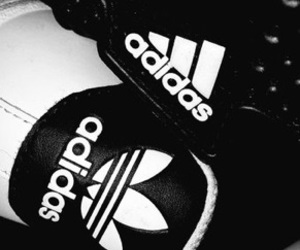 adidas and dark image