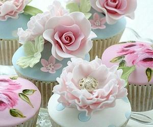 cupcakes, food, and sugar image