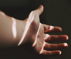 hand, light, and photography image