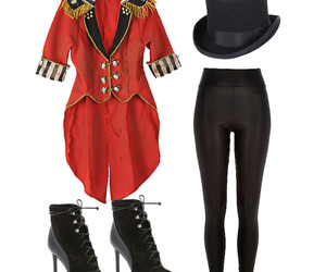 circus, costume, and sexy image