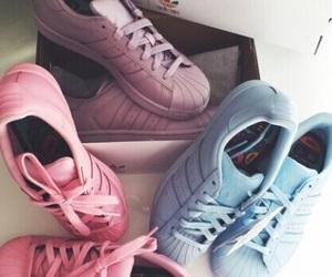 adidas, Basketball, and blue image