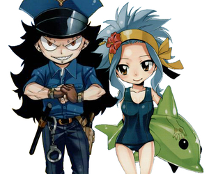 levy, fairy tail, and gajevy image