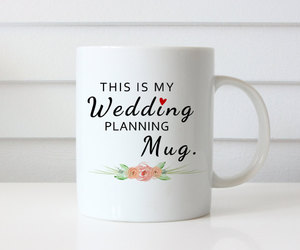 bride, coffee cup, and coffee cups image
