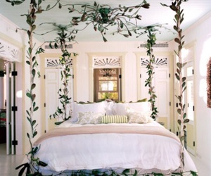 bedroom and bright image