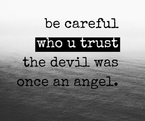 angel, black, and quote image