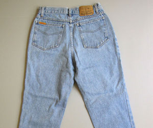 90s, vintage jeans, and women's clothing image