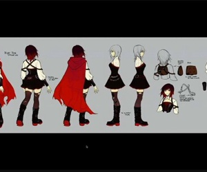ruby rose, rwby, and volume4 image