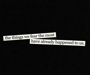 quote, fear, and text image