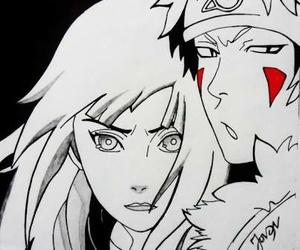 anime, hinata, and kiba image