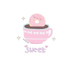 donut, overlay, and cute image