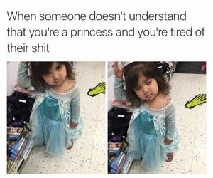 funny and princess image