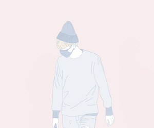 aesthetic, bts suga, and colorful image