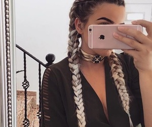 fashion, boho, and hair image