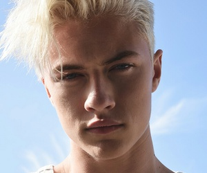 model, lucky blue smith, and blonde image