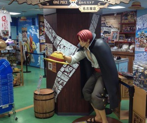 japan, one piece, and shanks image