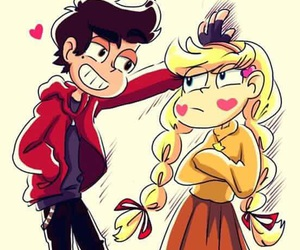 marco diaz, love, and starco image