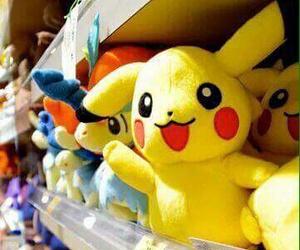 kawaii, pikachu, and plushies image