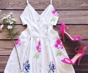 dress, robe, and summerdresses image