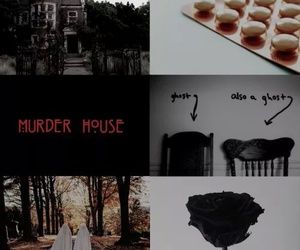 ghost, ahs, and murder house image