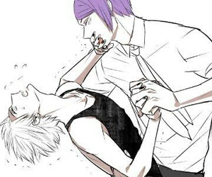 Tg, tgr, and tokyo ghoul image