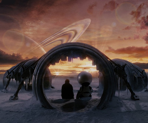 film, hitchhikers guide to the galaxy, and movie image