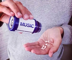 drug, music, and magic image