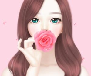 Enakei, art, and background image