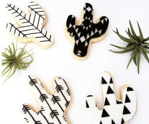 baking, cactus, and cookie image