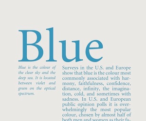 blue and quotes image
