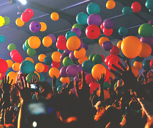 party, balloons, and fun image