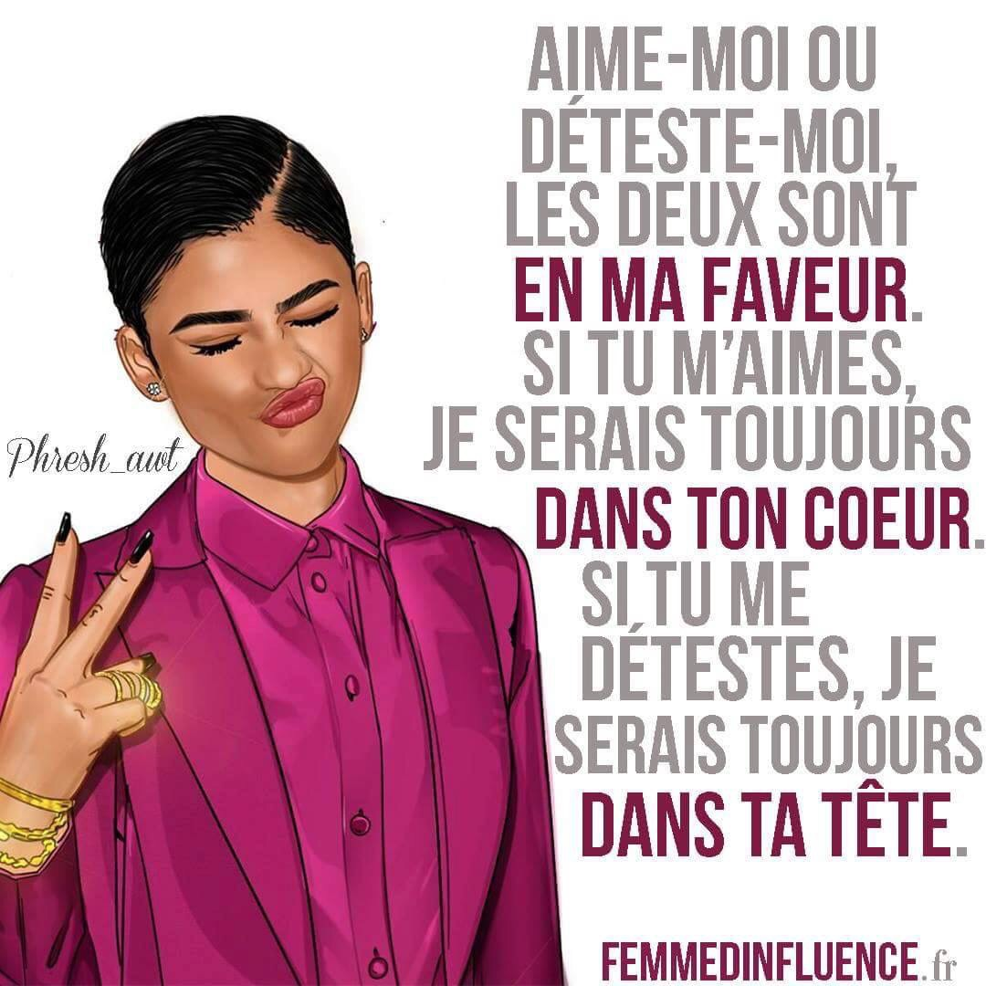 Image About Femme D Influence In Texte Citation Sms Dehka