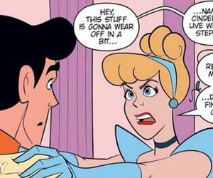 cinderella, disney, and funny image