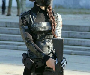 winter soldier, cosplay, and girl image