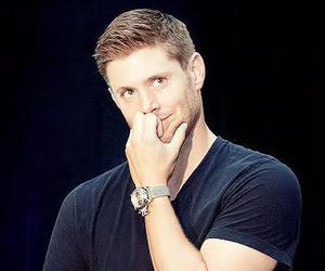 Jensen Ackles, boy, and supernatural image